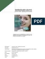 Rapport Arbeidssituatie Alumni Hogeschool Leiden