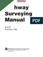 Engineering - Highway Surveying Manual (M 22-97) 1996