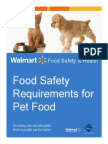 Food Safety Requirements Pet Food Suppliers 130042262524563630
