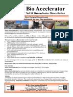 Hydra Bio Accelerator for Land Soil Remediation