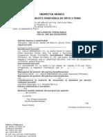 Declaratie  HG Model