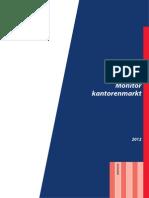 Stadsgewest Haaglanden Monitor Kantorenmarkt 2012