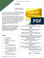 Gramática Do Esperanto – Wikipédia, A Enciclopédia Livre