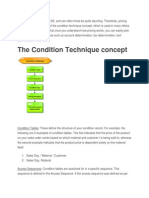 Sd Condition Technique