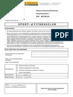 sportkorting Vlaams en Neutraal Ziekenfonds
