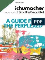 Guide for the Perplexed, A - E. F. Schumacher