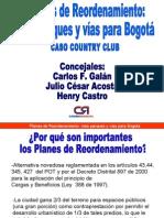 PLANES DE REORDENAMIENTO CASO COUNTRY CLUB