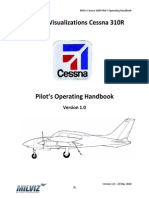 Military Visualizations Cessna 310R POH