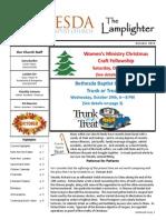 October 2014 Lamplighter