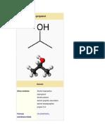 Metanol e Isopropanol y El Rombo de Seguridad