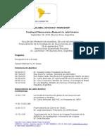 IBRO LARC Programa Global Advocacy