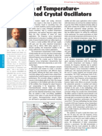 The Future of Temperature-Compensated Crystal Oscillators by John Esterline