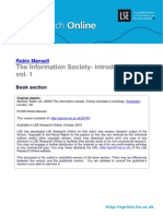 Robin Mansell - The Information Society