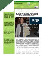 Boletín XXXVI Septiembre 2014