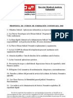 Reunión propuestas formación continuada 2010 (11-12-09)
