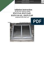 En ENSOL - Inroof Installation Instruction Slate Roof