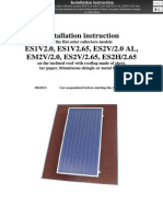 En ENSOL - Installation Instruction Tar Paper