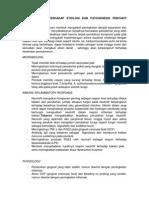 Efek Merokok Terhadap Etiologi Dan Patogenesis Penyakit Periodontal