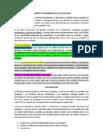 Corrientes Fundamentales de La Sociología