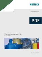 CONDUX Classifier Mills CSM e 01