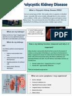 kidney brochure
