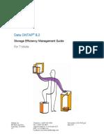 Data ONTAP 8.2 Storage Efficiency Management Guide