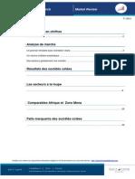 Sociétés Cotées à La Bourse - Publication Trimestriel 2012