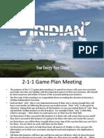 2-1-1 Game Plan Meeting Final