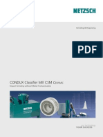 CONDUX Classifier Mill CSM Ceramic e