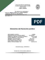 Racicinio Juridico