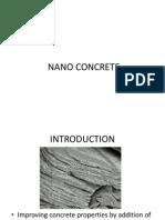 Nano Concrete Ppt3
