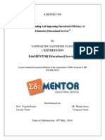 Santhosh Final Report-edumentor