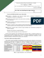 A.L 2.1 - Ácido Ou Base - Uma Classificação de Alguns Materiais