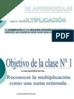 Ppt de La Multiplicacion 2014