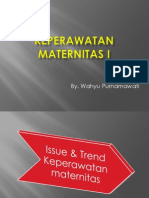 Issue & Trend Keperawatan Maternitas