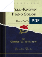 Well-Known Piano Solos