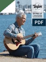 TaylorGuitars-2014PriceList