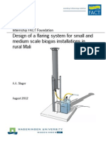 Design of a Flaring System