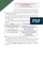 Application Form - Solar Under REC