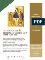 CDS Paris_Introducere in TeoIntroducere in Teologia Ortodoxalogia Ortodoxa