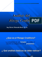 Analisis1 Del Riesgo Crediticio