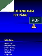Viem Xoang Do Rang
