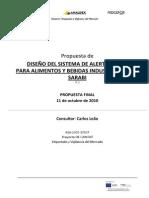 4.2 Propuesta Diseño Sistema de Alerta Rápida Para Alimentos y Bebidas Industrializados