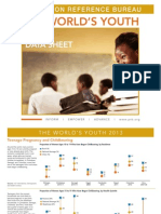 Youth Data Sheet 2013