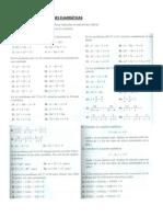 Ejercicios Ecuaciones Cuadraticas Mat1