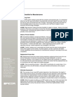 Epicor Erp Checklist for Manufacturers Ar Ens 0311