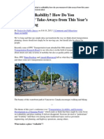 6 What is Walkability