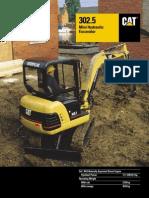 mini cat excavator 302.5.pdf