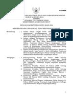 IND-PUU-7-2011-Permen LH 08 Th 2011 Tata Naskah Dinas KLH