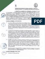 Convenio suscrito entre el Fitel y el GR de Ayacucho